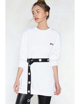 Nasty Relaxed Sweatshirt by Nasty Gal