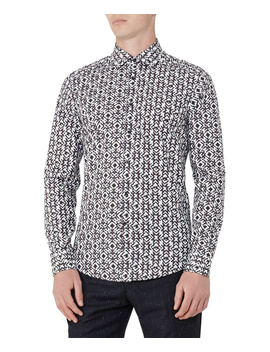Reiss Merci Slim Fit Woven Shirt by Reiss