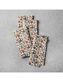 Floral Napkin (4ct)   Hearth & Hand™ With Magnolia by Shop Collections