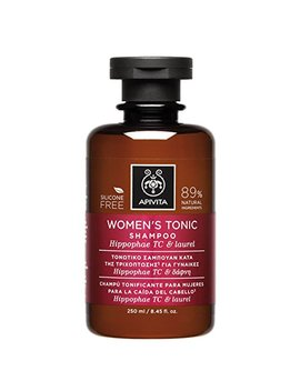 2 X Apivita Women's Tonic Shampoo For Thinning Hair (New Product, Released In 2017)   2 Bottles X 250ml/8.5oz Each One by Apivita