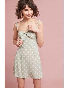Polka Dot Bustier Dress by Capulet