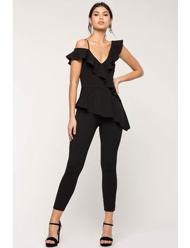 Cecille Ruffle Jumpsuit by A'gaci
