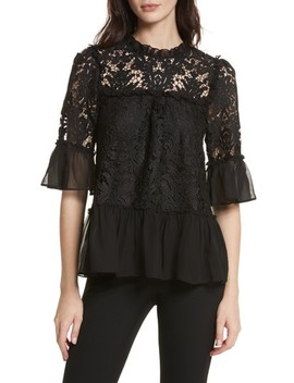 Kate Spade Tapestry Lace Top by Kate Spade New York