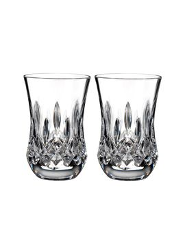 Lismore Classic Flared Sipping Tumbler Set Of 2 by Waterford