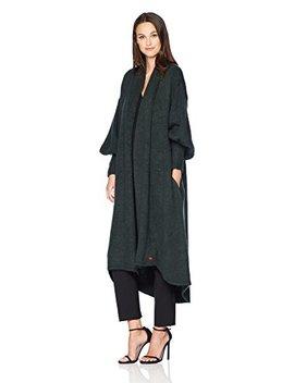Dear Drew By Drew Barrymore Women's Cozy Nights Full Sleeve Sweater Coat by Dear Drew By Drew Barrymore