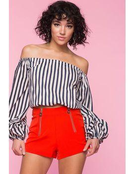 Hot Mama Zipper Shorts by A'gaci