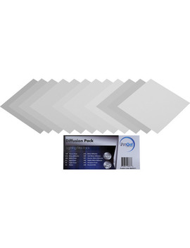 "Diffusion Filter Pack   12x12"" by Pro Gel"