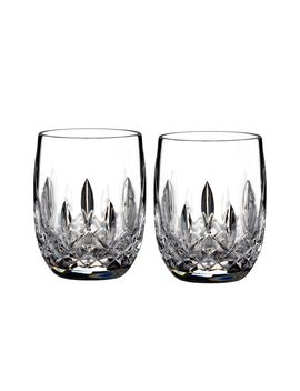 Lismore Classic Rounded Tumbler Set Of 2 by Waterford
