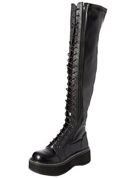 Demonia Women's Emily 375 Over The Knee Boot by Demonia