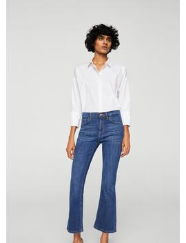 Trumpet Flared Jeans by Mango