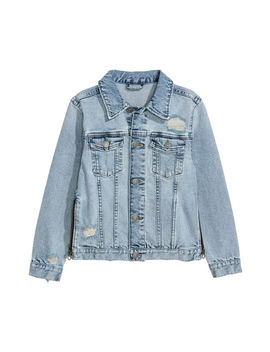 Denim Jacket With Zips by H&M