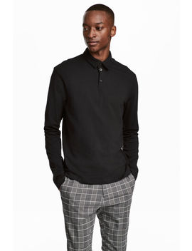 Long Sleeved Shirt Slim Fit by H&M