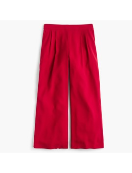Wide Leg Crop Pant In 365 Crepe by J.Crew