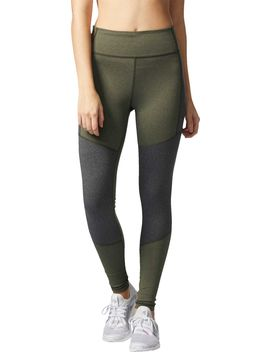 Adidas Women's Performer Heathered High Rise Tights by Adidas