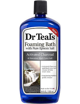 Online Only Activated Charcoal Foaming Bath by Dr. Teals