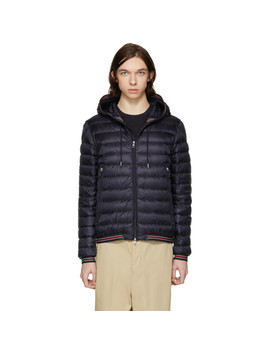 Navy Down Eliot Jacket by Moncler