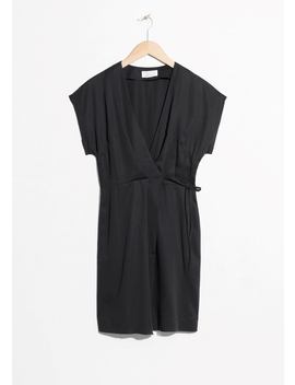 Sleeveless Wrap Dress by & Other Stories