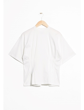 Pleated T Shirt by & Other Stories