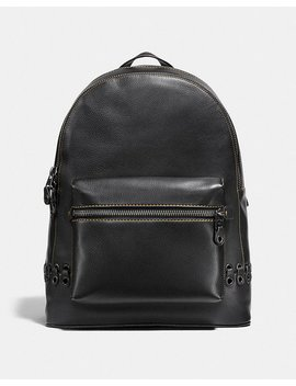 League Backpack With Coach Link Detail by Coach