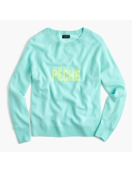 Pêche Crewneck Sweater In Everyday Cashmere by J.Crew
