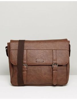 New Look Satchel In Brown by New Look