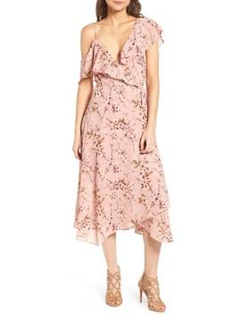 Jenna Asymmetrical Wrap Dress by Wayf