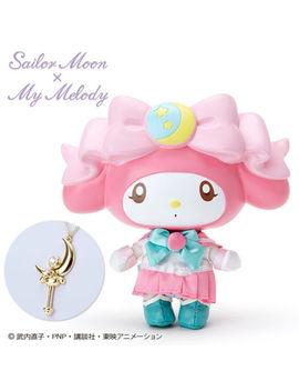 Sailor Moon X My Melody Muñeca Y Collar (My Melody) Sanrio Kawaii Lindo F/S Stock by Ebay Seller