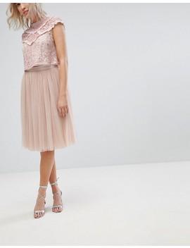 Needle & Thread Midi Tulle Skirt by Needle & Thread