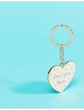 Sass & Belle Love You Mum Mothers Day Keyring by Sass & Belle