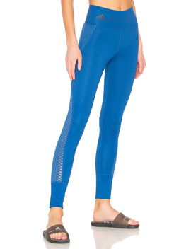 Train Ultimate Tight In Et Blue by Adidas By Stella Mc Cartney