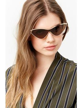 Cat Eye Frame Sunglasses by Forever 21