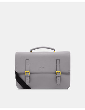 Rubber Look Satchel by Ted Baker