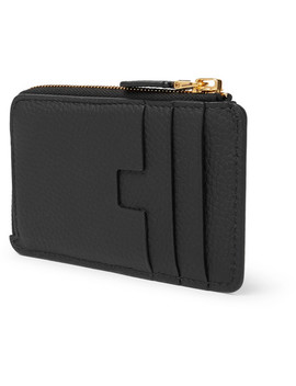 Full Grain Leather Zipped Cardholder by Tom Ford