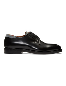 Black Classic Derby by Lanvin