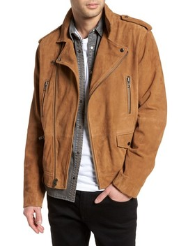 Suede Moto Jacket by Treasure & Bond