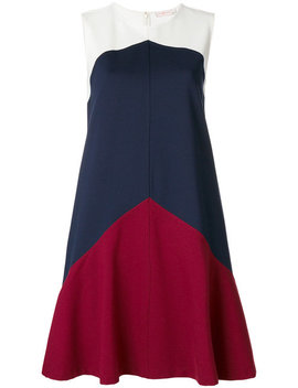 Willa Colour Block A Line Dress by Tory Burch