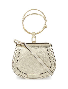 Nile Metallic Leather Cross Body Bag by Chloe