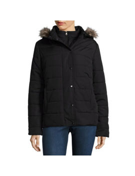St. John's Bay Heavyweight Puffer Jacket by St. John`s Bay
