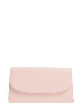Leather Clutch by Nordstrom