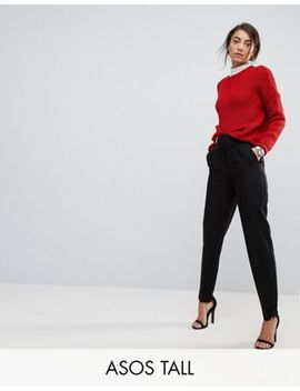 Asos Tall Mix & Match High Waist Cigarette Pants by Asos Tall