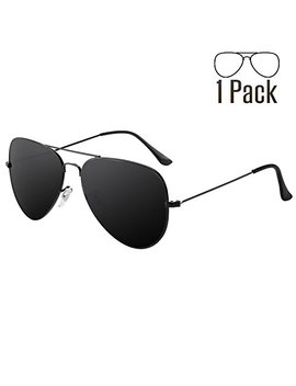Livhò G 2 Pack Of Sunglasses For Men Women Aviator Polarized Metal Mirror Uv 400 Lens Protection by Livhò