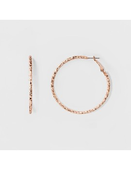 Hoop Earrings   A New Day™ Rose Gold by A New Day™