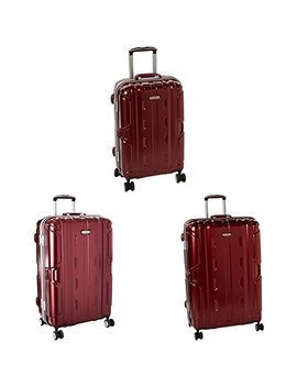 "Samsonite Cruisair Dlx Hardside Three Piece Spinner Set (21""/26""/30""), Burgundy by Samsonite"
