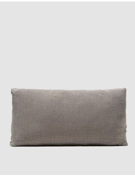 Simple Linen Pillow 12x22 by Need Supply Co.