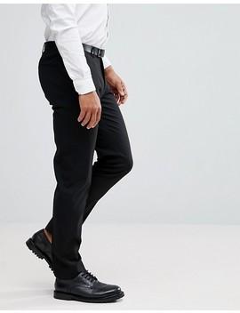 Asos Skinny Smart Pants In Black by Asos