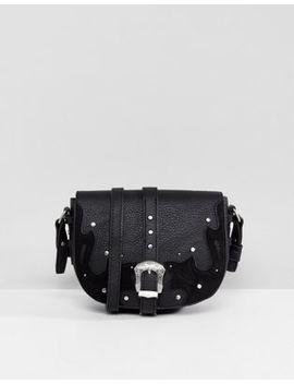 New Look Western Buckle Cross Body Bag by New Look