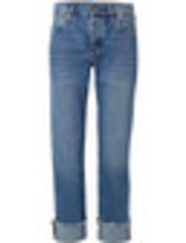 Phoebe Frayed Boyfriend Jeans by M.I.H Jeans