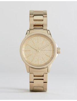 Armani Exchange Ax4351 Bracelet Watch In Gold by Armani Exchange