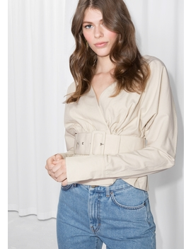 Belted Blouse by & Other Stories
