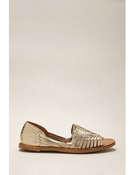 Sbicca Leather Huarache Sandals by Forever 21